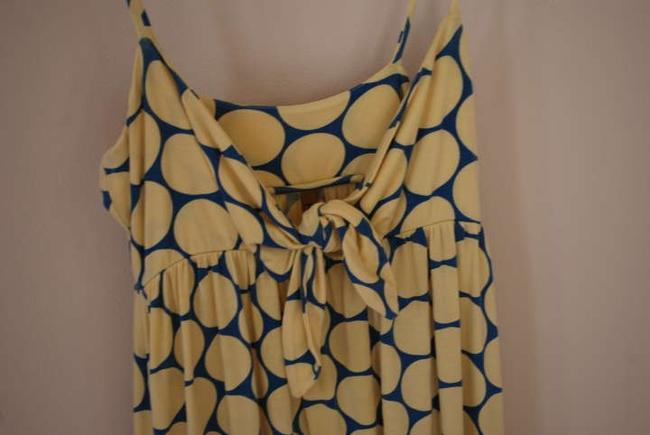 Rachel Pally short dress Yellow/Blue Sundress Summer Beach on Tradesy