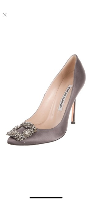 Item - Gray Hangisi Pumps Size US 7 Regular (M, B)