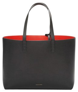 Mansur Gavriel Tote in Black and Red