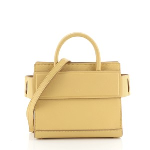 Givenchy Leather Satchel in Yellow