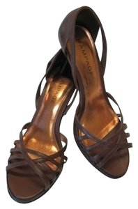 Rampage Leather Excellent Condition BROWN Sandals