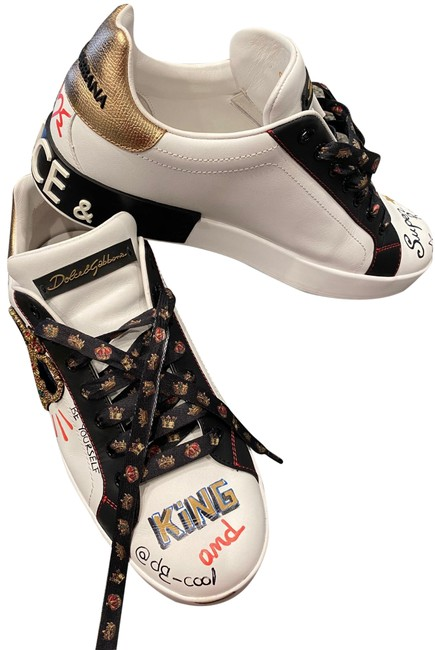 Item - White Dolce & Gabbana For Mens. Sneakers Size US 8 Narrow (Aa, N)