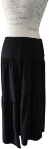 Wilt Boho Flare New With Tags Maxi Skirt Black