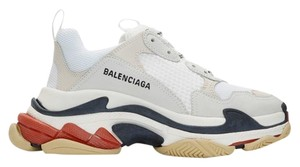 Balenciaga white/red/black Athletic