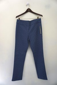 Margaret M New With Tags Ankle Capri/Cropped Pants Blue & White
