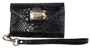 Michael by Michael Kors Michael Kors Black Snakeskin iPhone 4/4S Case (40808)