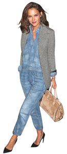 Almost Famous Clothing Denim Katie Holmes Coveralls Dress