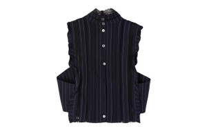 Marissa Webb Button Down Shirt navy