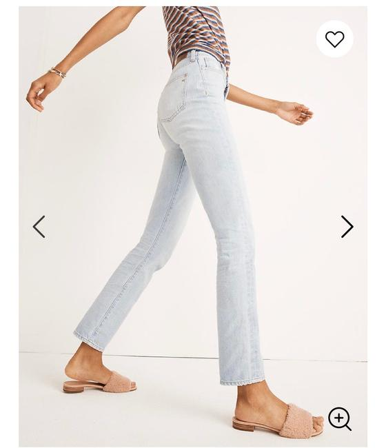 Madewell Light Wash The Perfect Vintage Relaxed Fit Jeans Size 00 (XXS, 24) Madewell Light Wash The Perfect Vintage Relaxed Fit Jeans Size 00 (XXS, 24) Image 2