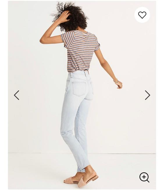 Madewell Light Wash The Perfect Vintage Relaxed Fit Jeans Size 00 (XXS, 24) Madewell Light Wash The Perfect Vintage Relaxed Fit Jeans Size 00 (XXS, 24) Image 3