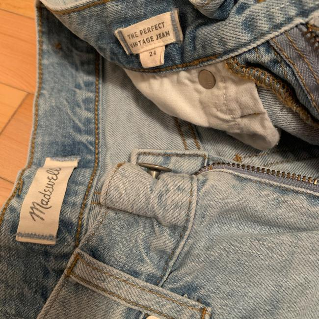 Madewell Light Wash The Perfect Vintage Relaxed Fit Jeans Size 00 (XXS, 24) Madewell Light Wash The Perfect Vintage Relaxed Fit Jeans Size 00 (XXS, 24) Image 5