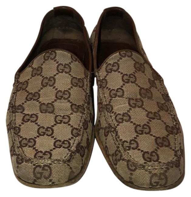 Item - Brown Flats Size US 8.5 Regular (M, B)