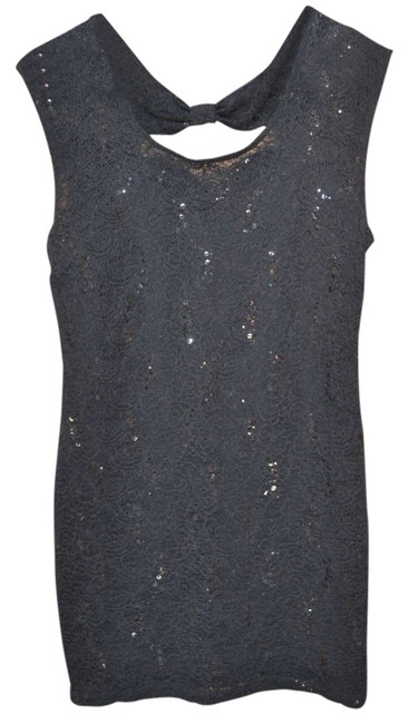 Preload https://item3.tradesy.com/images/forever-21-black-lace-sequin-party-above-knee-night-out-dress-size-8-m-270222-0-0.jpg?width=400&height=650