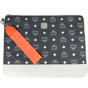 MCM Pouch Purse Wristlet in Multicolor