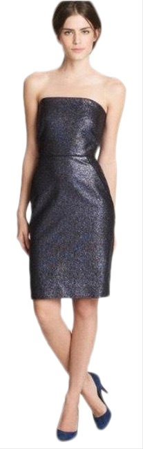 Item - Black/Grey Collection Strapless Mid-length Cocktail Dress Size 0 (XS)