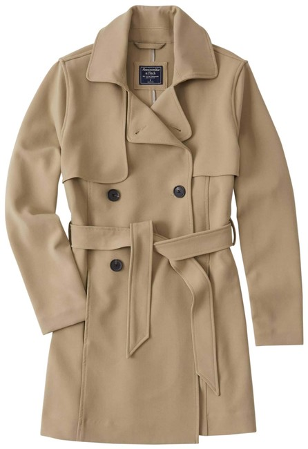 Item - Light Brown Drapey Spring Coat Size 8 (M)