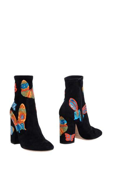 Item - Black Multi Yellow Blue Red New 411314 Boots/Booties Size EU 35 (Approx. US 5) Regular (M, B)