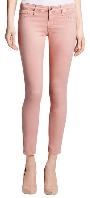 Item - Pink Haze The Zip Up Legging Ankle Zip Skinny Jeans Size 0 (XS, 25)