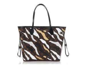 Louis Vuitton Lv.r0130.01 Camo Limited Edition Tote in Brown