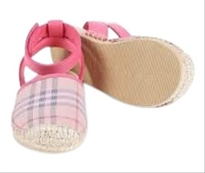 Burberry Espadrilles Monogram Pink Athletic