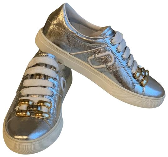 Marc by Marc Jacobs Silver Sneakers