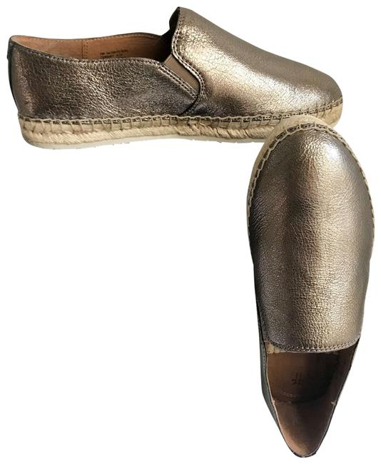 Item - Gold Silver Isbel Espadrille Style #70070 Sneakers Size US 7 Regular (M, B)