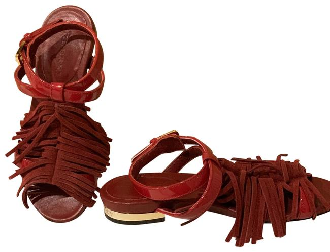 Burberry Red (Size27) Sandals Size US 4 Regular (M, B) Burberry Red (Size27) Sandals Size US 4 Regular (M, B) Image 1