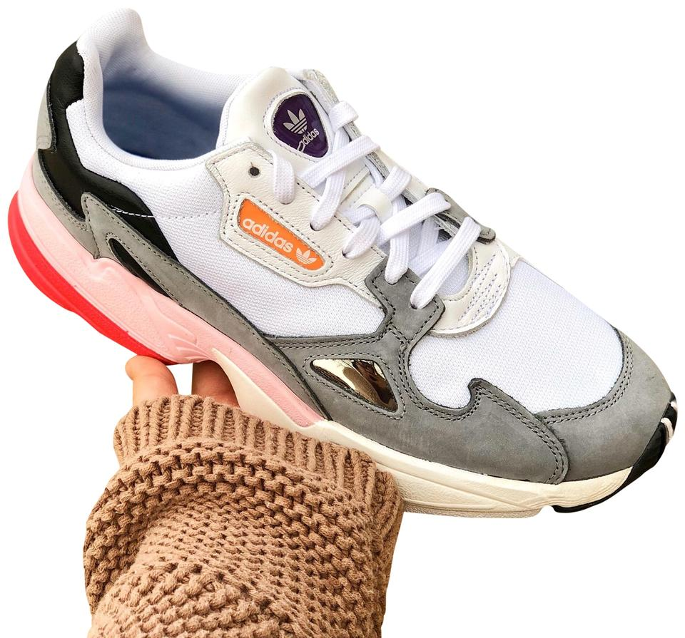 adidas Beige/Cloud White/Grey Three Falcon Chunky Sneakers Size US 9  Regular (M, B) 10% off retail
