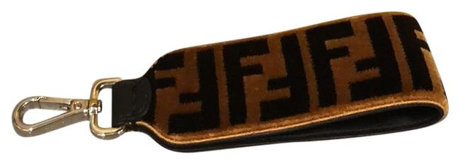 Item - Brown and Black Strap Key Chain