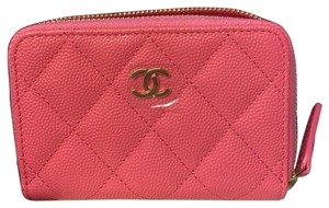 Chanel Chanel Zipper Wallet Coin Purse in caviar Leather 2020 limited color