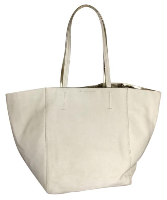 Item - Double Sided Cream Gold Tote
