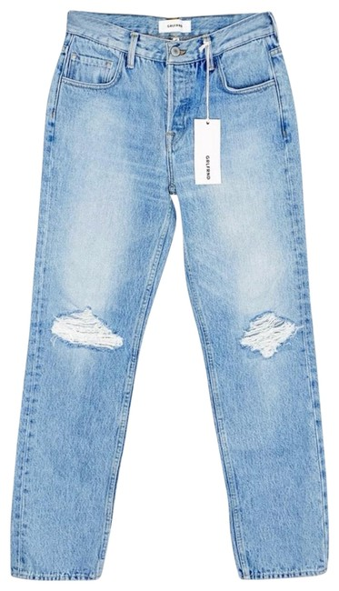 Item - Blue Distressed Kendall High Rise Skinny Jeans Size 0 (XS, 25)