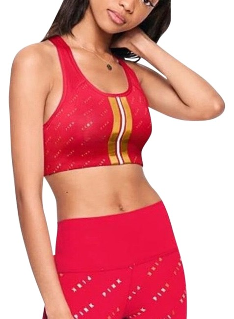 Item - Red Gold Pink Ultimate Activewear Sports Bra Size 2 (XS)