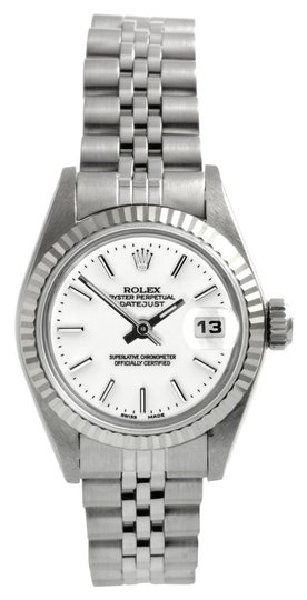 Rolex Rolex Datejust Stainless Steel White Dial Ladies Watch