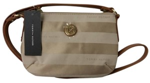 Tommy Hilfiger Canvas Two-tone Cross Body Bag