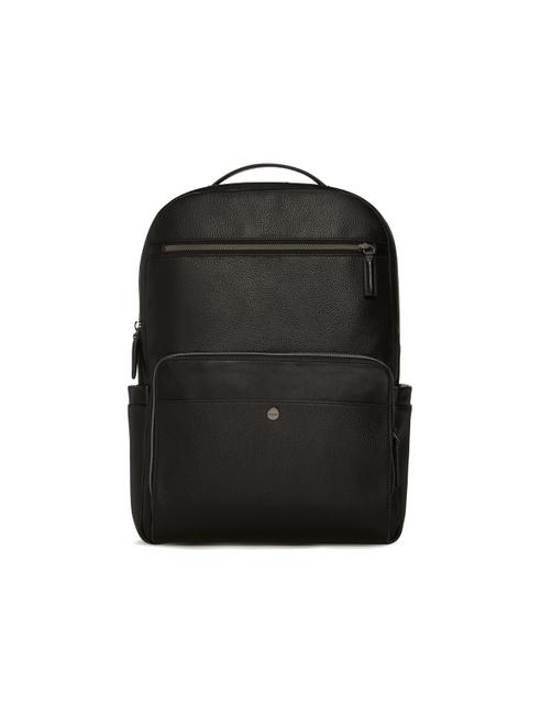 Item - Relaxed Zipper Pebble Everyday Black Faux Leather Backpack