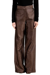 Malo Wide Leg Pants Brown