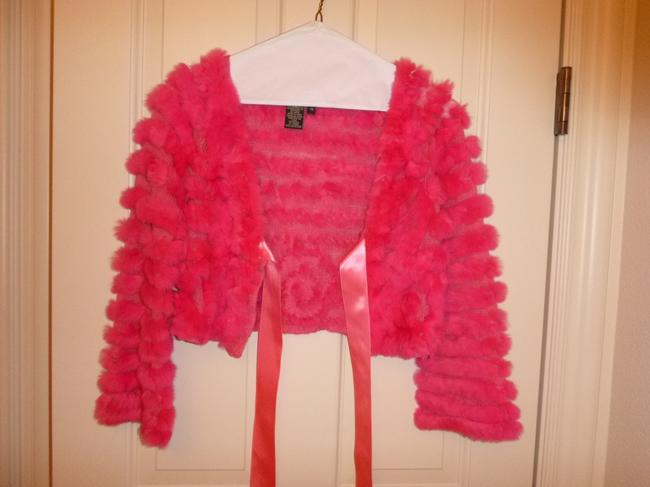BCBGMAXAZRIA Rabbit Pink Jacket