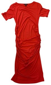Isabella Oliver Rusched T-Shirt Maternity Dress