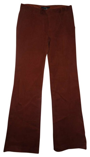 Zara Flare Pants Sienna Brown