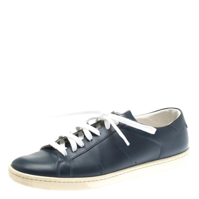Item - Blue Paris Leather Low Top 39 Sneakers Size US 8.5 Regular (M, B)
