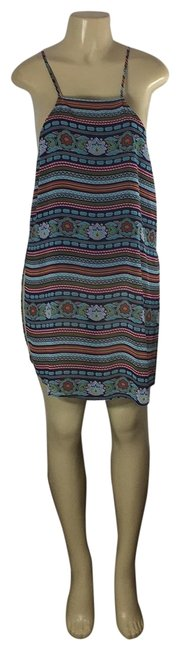 Soho Multicolor Nice Short Cocktail Dress Size 8 (M) Soho Multicolor Nice Short Cocktail Dress Size 8 (M) Image 1