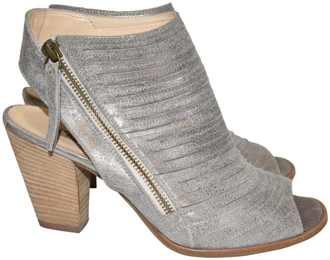 Item - Smoke Cayanne Leather Peep Toe Bootie (Pg3) Sandals Size US 8 Regular (M, B)
