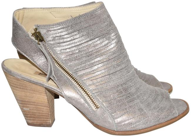Item - Smoke Cayanne Leather Peep Toe Bootie 10.5 (Pg3 Sandals Size US 10 Regular (M, B)