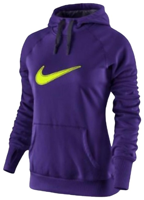 Item - Purple Swoosh Therma Fit Activewear Outerwear Size 8 (M)