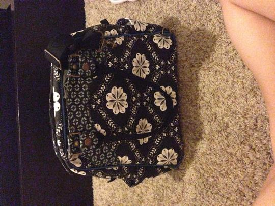 Petunia Pickle Bottom black and blue Diaper Bag