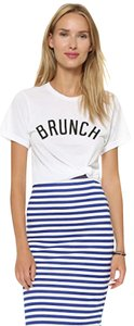 PRIVATE PARTY Brunch Graphic Graphic T Shirt White