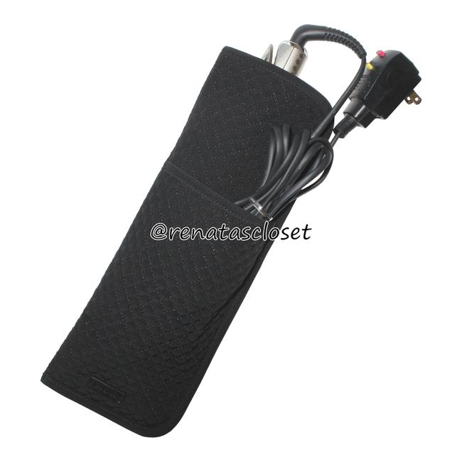 Item - Black/Gray Iconic Curling & Flat Iron Cover Hair Accessory