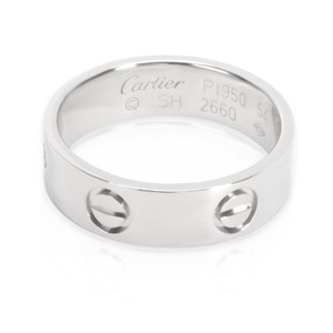 Cartier Cartier Love Ring in Platinum (Size 54)