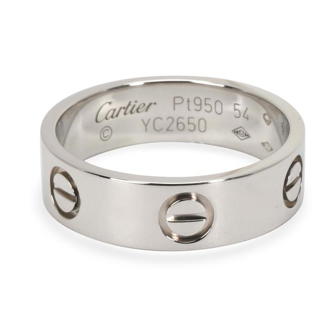 Cartier Platinum Love In (Size 54) Ring Cartier Platinum Love In (Size 54) Ring Image 1